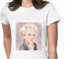 Meryl Streep The Devil Wears Prada Womens Fitted T-Shirt