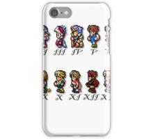 Final Fantasy Sprites iPhone Case/Skin