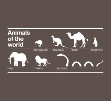 Animals of the World by beardo