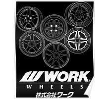 Work Wheels Poster