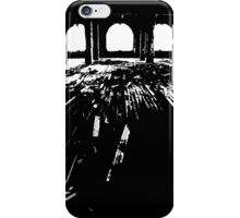 Michigan Central Station Floorboards iPhone Case/Skin