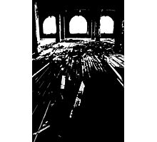 Michigan Central Station Floorboards Photographic Print