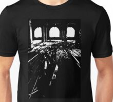 Michigan Central Station Floorboards Unisex T-Shirt
