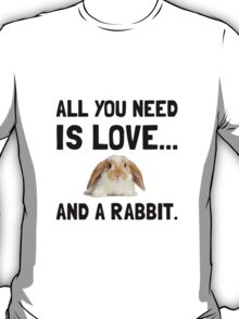 Love And A Rabbit T-Shirt