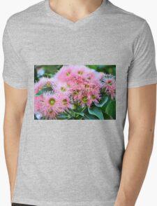 GUM TREE BLOSSOMS Mens V-Neck T-Shirt