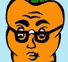 Carrot Nerd Sticker