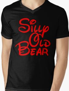 silly old bear 2 Mens V-Neck T-Shirt