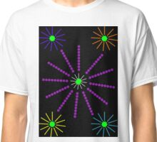Exploding Firework Display Abstract Classic T-Shirt