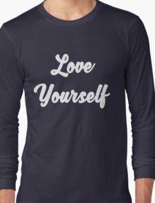 Love yourself Justin Bieber Long Sleeve T-Shirt