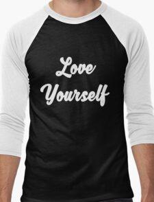 Love yourself Justin Bieber Men's Baseball ¾ T-Shirt