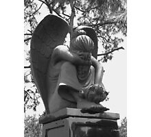 Weeping Angel II Photographic Print