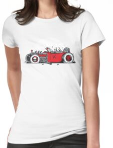 Ed's Dead Sled Womens Fitted T-Shirt