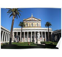 Papal Basilica of St. Paul Poster