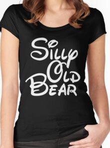 silly old bear 4 Women's Fitted Scoop T-Shirt