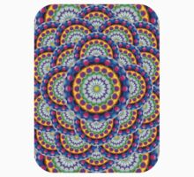 Mandala Psychedelic Visions One Piece - Short Sleeve