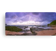 Seascape Sunrise Panoramic Canvas Print