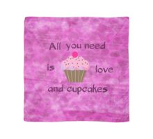 Love and Cupcakes Scarf