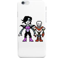 Undertale - Papyton, Mettaton and Papyrus iPhone Case/Skin