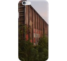 Abandoned Railway Car in Mexico iPhone Case/Skin