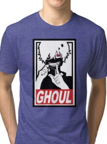 Kaneki - Tokyo Ghoul  Tri-blend T-Shirt
