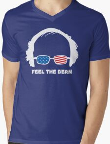 Bernie Sanders T-Shirt Mens V-Neck T-Shirt