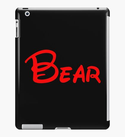 bear iPad Case/Skin
