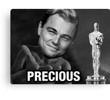 Leonardo reacting to Oscar Metal Print
