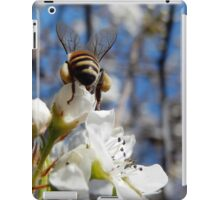 HONEY BEE ON A BLOSSOM (11) iPad Case/Skin