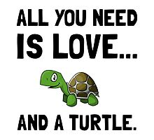 Love And A Turtle by AmazingMart
