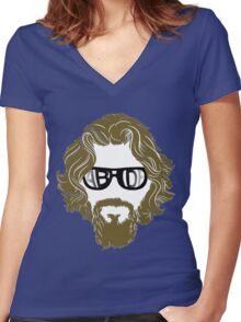 Abide Sunglasses Women's Fitted V-Neck T-Shirt