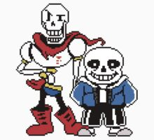 Undertale - Sans and Papyrus One Piece - Short Sleeve