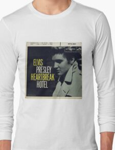 Elvis Presley Heartbreak Hotel  EP cover Long Sleeve T-Shirt