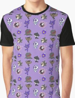 Ghost Pokemon Graphic T-Shirt