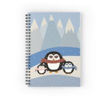 Cute Penguins Spiral Notebook