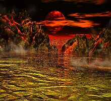 Volcano 2 by Norma Jean Lipert