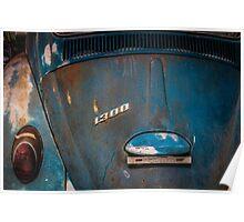 VW blues Poster