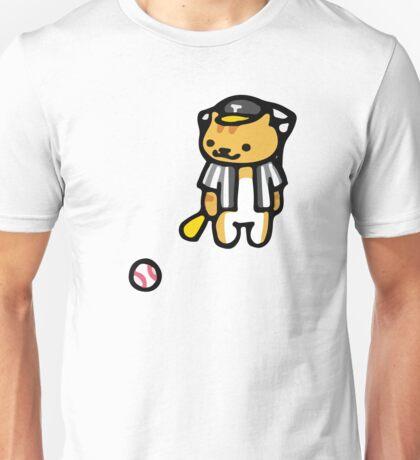 Joe DiMeowgio - Neko Atsume Unisex T-Shirt