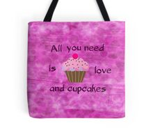 Love and Cupcakes Tote Bag