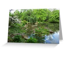 Stone Hedge Pennsylvania  Greeting Card