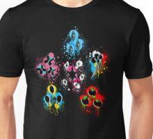 Mane Six Cutie Mark's Aura Splatter V2.0 Unisex T-Shirt