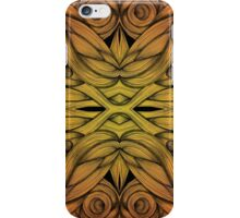 Abstract Flame Whirls iPhone Case/Skin