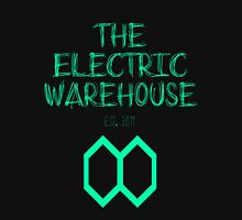 Electric Warehouse est. 2011 (TEAL) Unisex T-Shirt