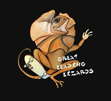 Great Leaping Lizards! Unisex T-Shirt