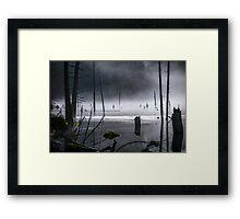 Lake of the Mist Framed Print
