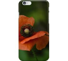 Peach Colored Paper Flower iPhone Case/Skin