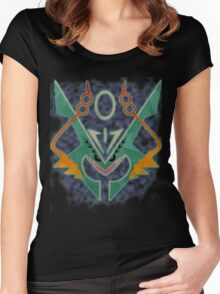 Mega Rayquaza Women's Fitted Scoop T-Shirt