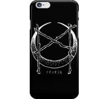 Mannaz Crescent  iPhone Case/Skin