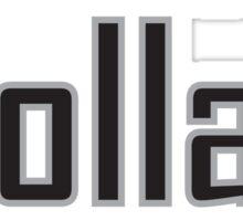 White Collar Mafia Sticker