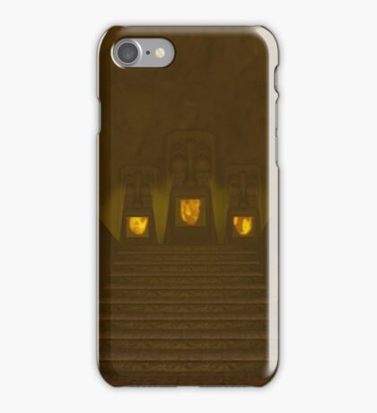 Fire Temple entrance from The Legend of Zelda: Ocarina of Time iPhone Case/Skin