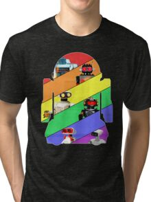 We are the ROBOTS (retro edition) Tri-blend T-Shirt